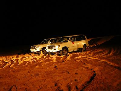 Imagini Dubai: Safari in desert, la plecare