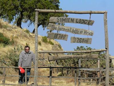 Imagini Etiopia: Muntii Simien, Simien Lodge
