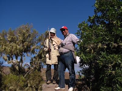 Imagini Etiopia: Muntii Simien cu un scout