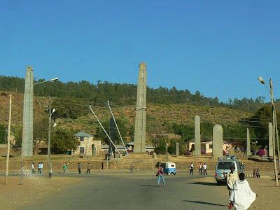 Obiective turistice Etiopia: stelae Aksum