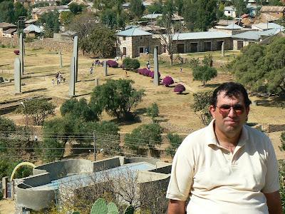Obiective turistice Etiopia: stelae la Aksum