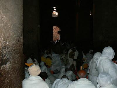 Imagini Etiopia: credinciosi ortodocsi la Lalibela