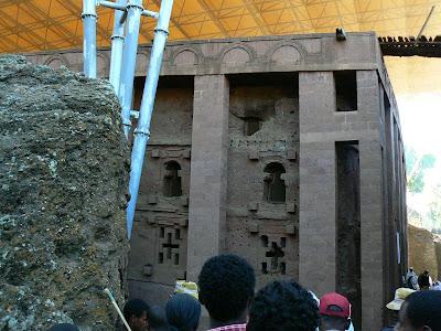 Obiective turistice Etiopia: Bet Medhane Alem Lalibela