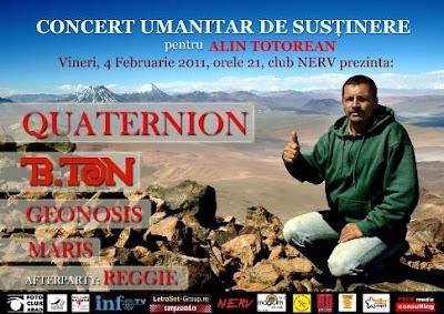 Concert pentru Alin Totorean