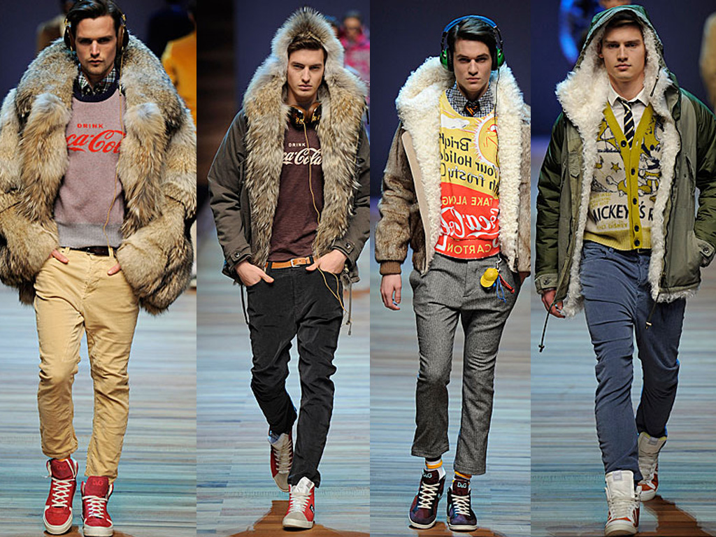Man Whispers: D&G Mens Fall 2011 Runway - Milan Menswear ...
