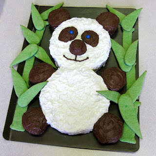 320px for Panda bear cake template