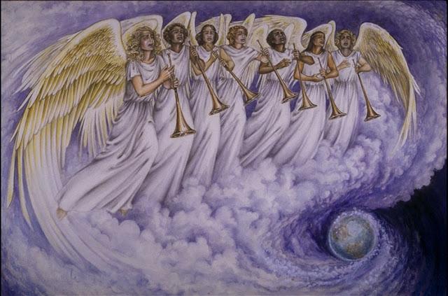 Resultado de imagem para pessoa com anjos em volta