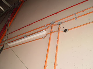 Electrical Installation Wiring Pictures  Electric conduit     RELATED ARTICLES  Underfloor trunking below structural rebars   MATV  trunking riser   Lighting flexible conduits   Conduit to trunking  connections   Cable