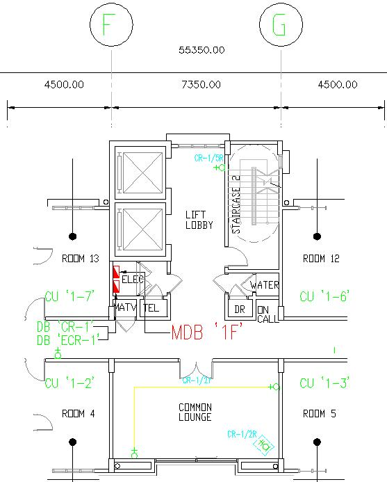 electrical plan for apartment