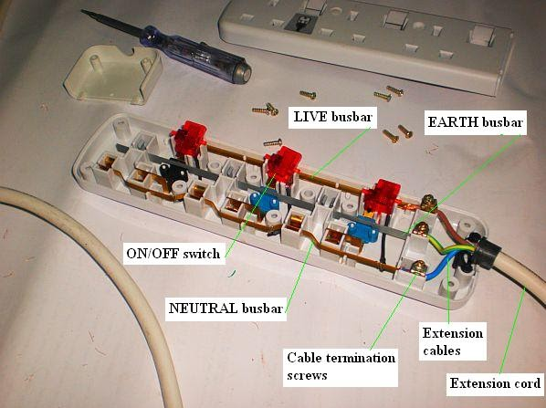 wiring diagram for a switched outlet 5w led driver circuit electrical installation pictures: socket extension unit