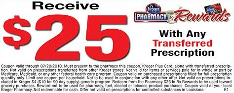 kroger pharmacy prescription coupon