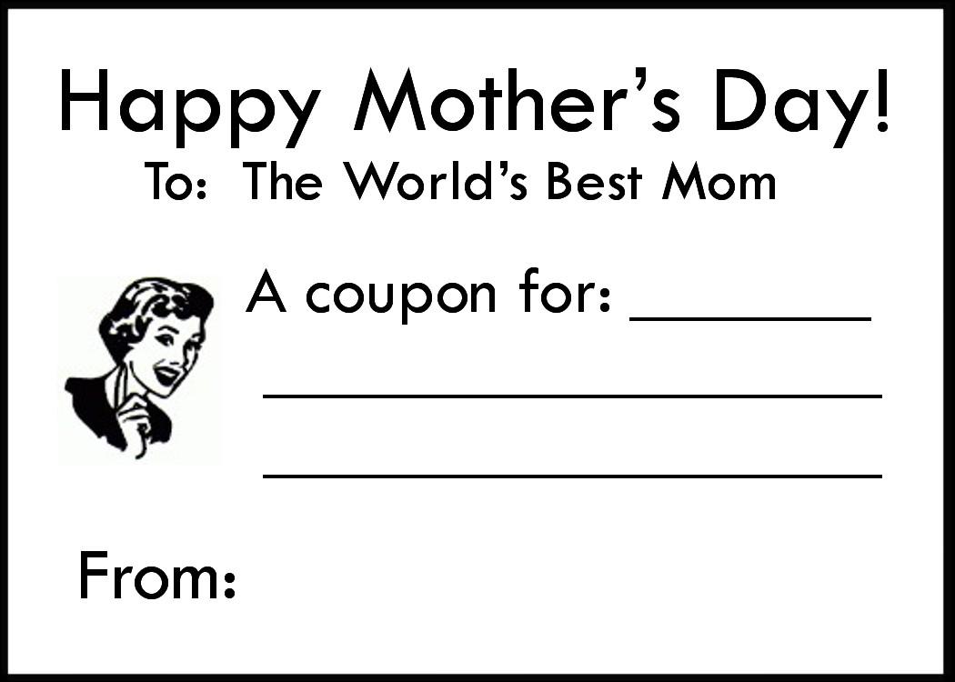 scatter sunshine free mother 39 s day coupon printable. Black Bedroom Furniture Sets. Home Design Ideas