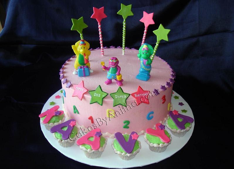 Cakes By Anitha Barney Celebration Cake
