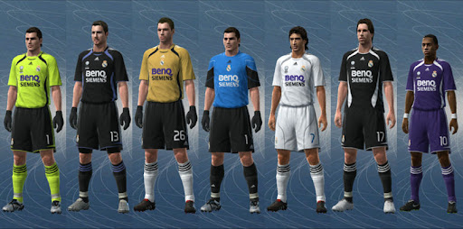 sneakers for cheap 582f1 57621 Real Madrid 06/07 Kit Set by jvinu2000 - PESEdit Blog