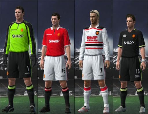 quality design 0dbf0 6c83d Manchester United 98/99 Kit Set by 3beckham2 - PESEdit Blog