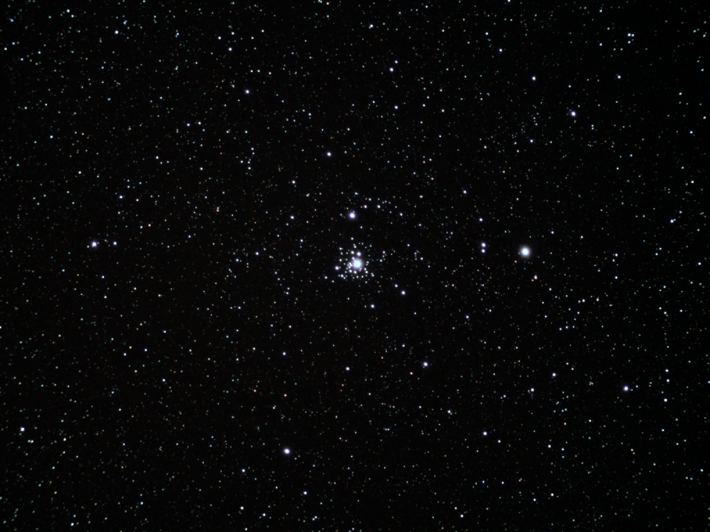 NGC 2362 (Tau Canis Majoris Cluster), ST80 on Vixen SP, 9x60