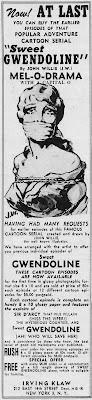 John Willie's Sweet Gwendoline, advertisement