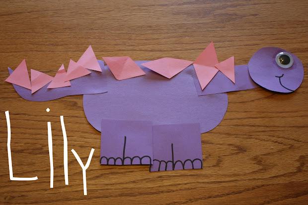 Preschool Dinosaur Art Projects