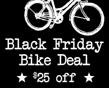 76b1409dca3 Century Cycles Blog: Black Friday Bike Deal!