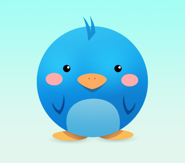 The Twitter Bird is my homeboy