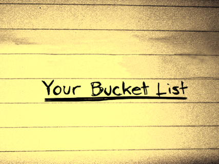 The Big Dream Bucket List