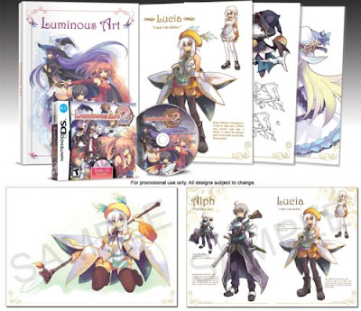 Luminous Arc 2 Artbook