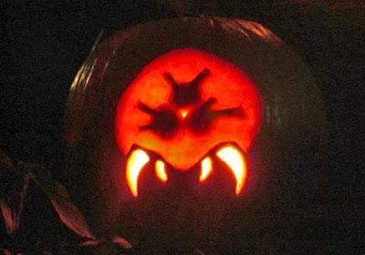 Metroid Pumpkin
