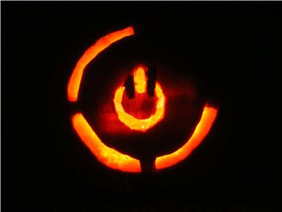 Red Ring of Death Pumpkin