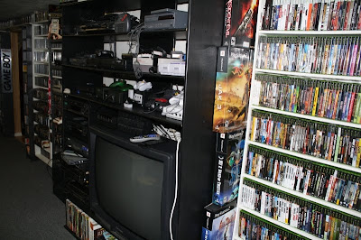 Tons of Video Game Consoles