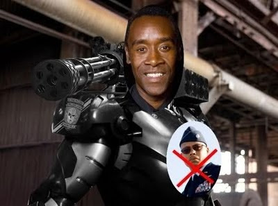 Don Cheadle War Machine Movie