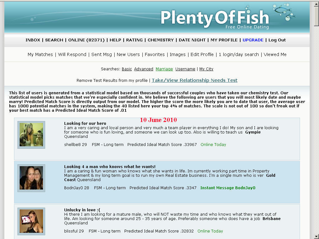 Dating website fsm