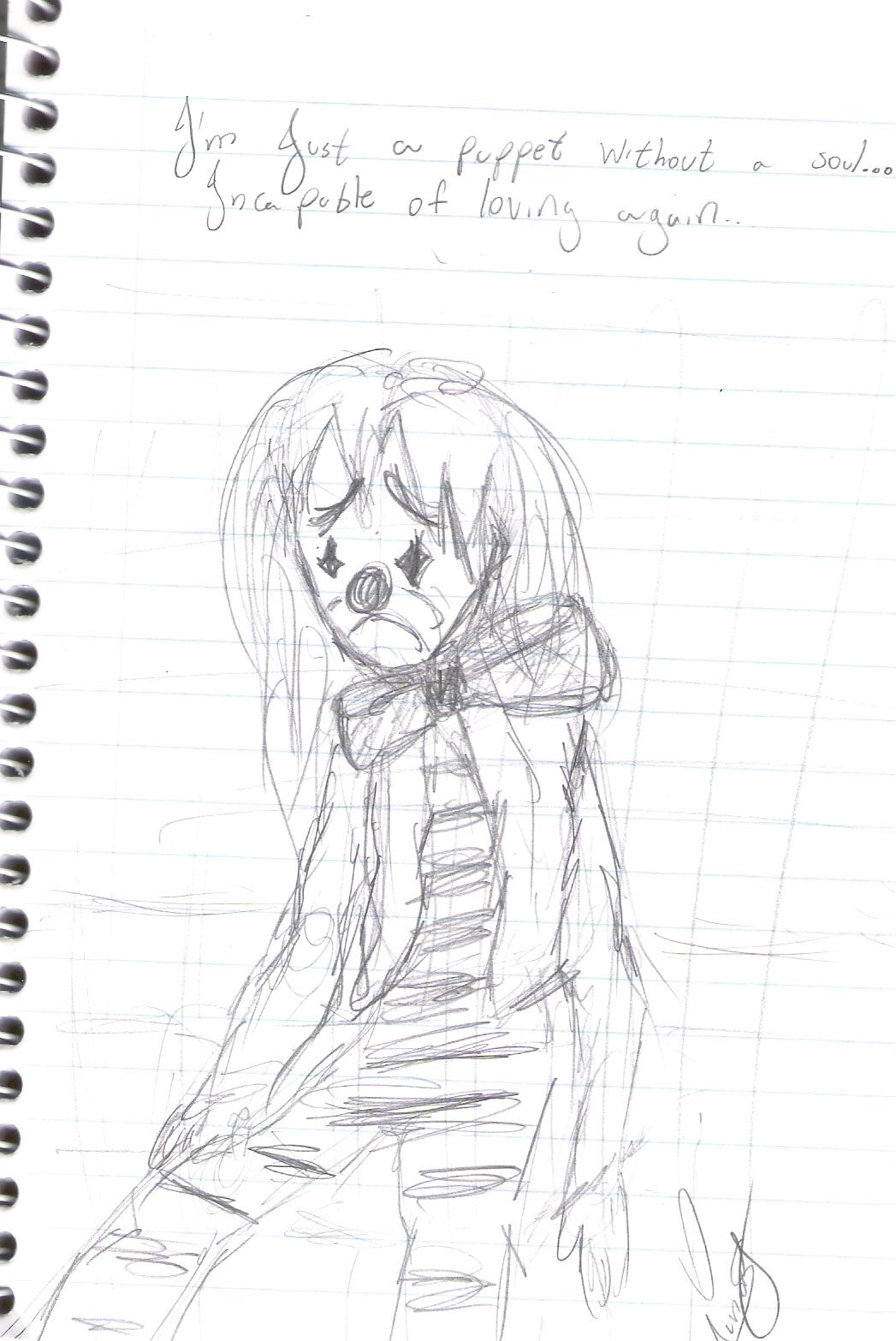 Nerd Sedentario Desenho Triste