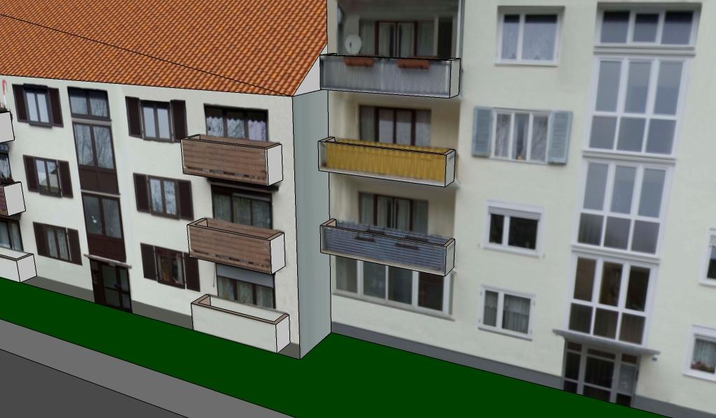 vorgestellte design balkone
