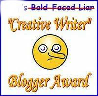 Creative Blogger award!