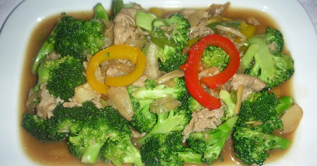 Brokoli Cah Jamur