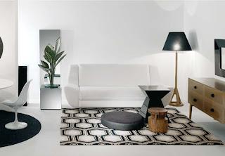 Notranja oprema dnevne sobe - pohištvo Natura accent