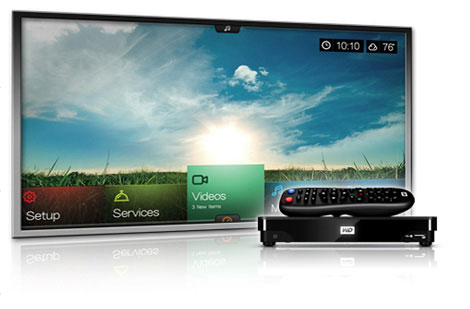 A Mothers Ramblings: Western Digital WDTV Live Hub - Daddy Guest Review
