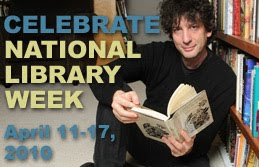 Neil Gaiman, National Library Week's Honorary Chair