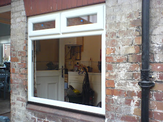 Haworth Carpentry Amp Joinery Upvc Windows With Black 90mm