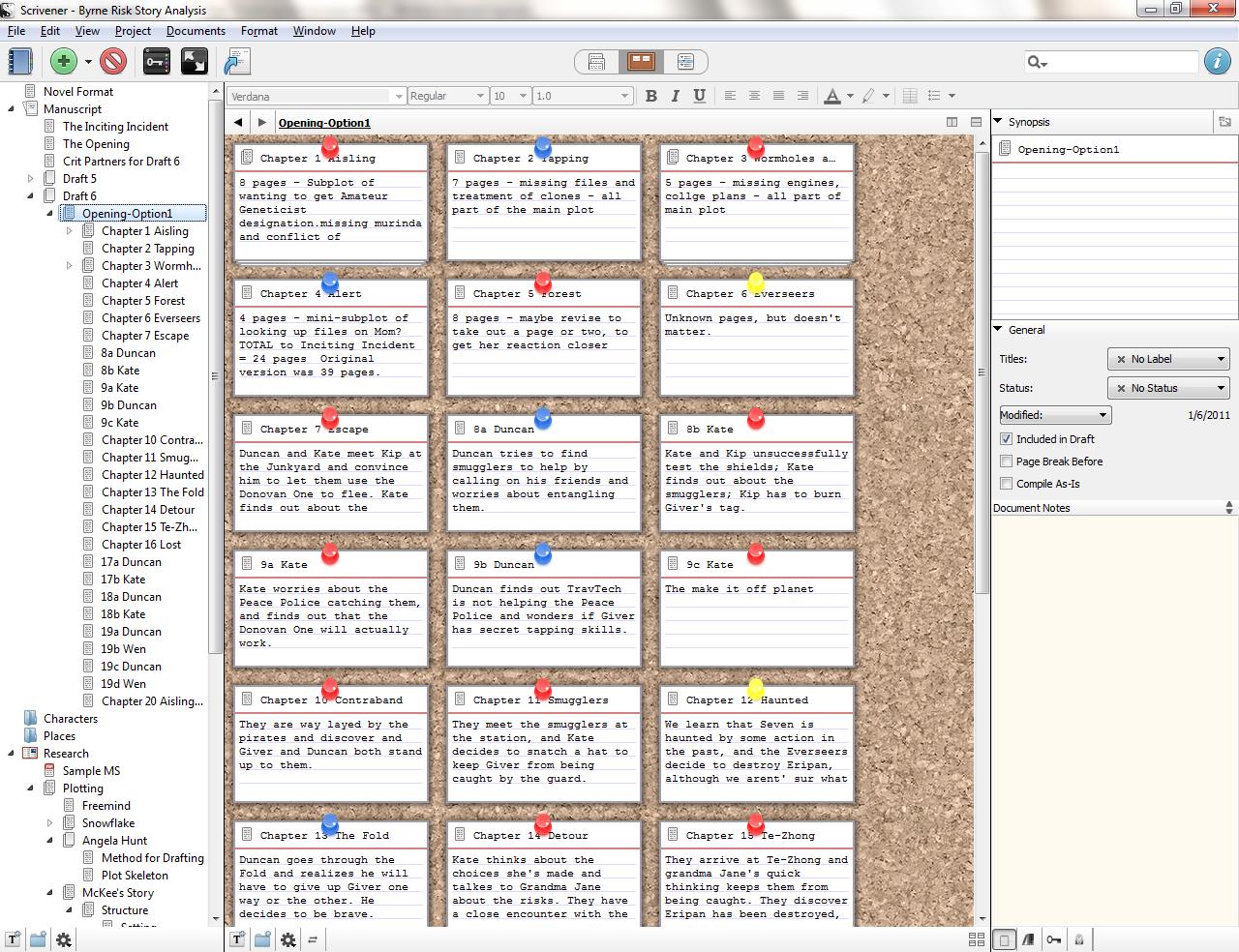 writing a novel with scrivener epub files