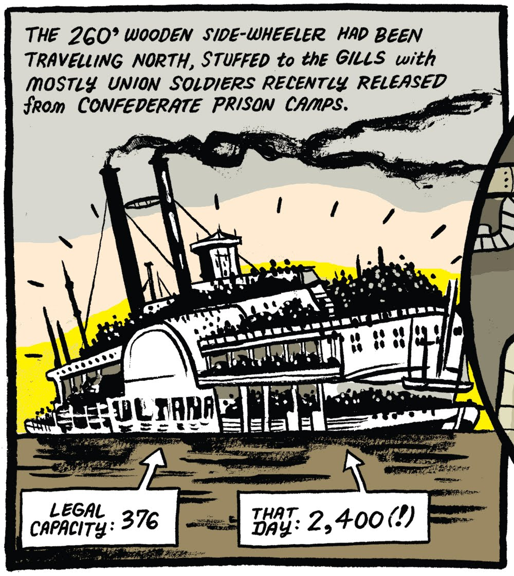 Zettwoch's Suitcase: The Sinking of the SS Sultana