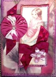 Alpha Stamps Alice in Wonderland ATC swap winner Sharon Walworth!
