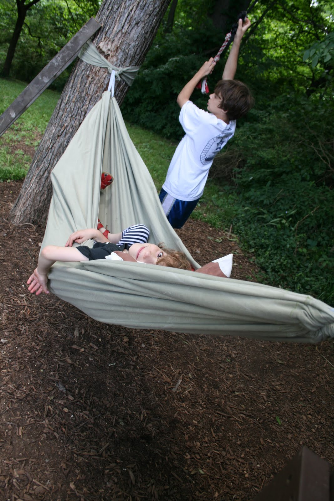 Littlebits Designs How To Make A Quickie Hammock