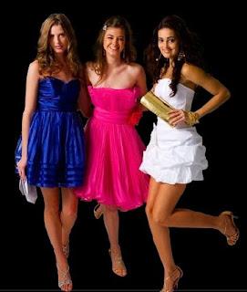 vestidos de festa curtos modelos