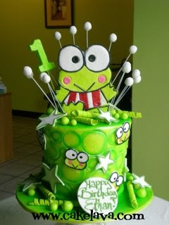Cakelava Keroppi From Donut Pond