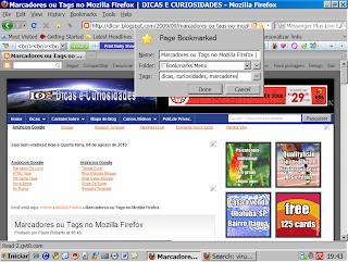 imagem adicionar aos favoritos, no Mozilla Firefox