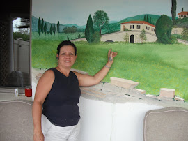 more scenes of Tuscany, from the mural, Scenes from Italy