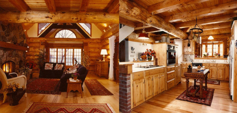 Chinking Cedar Homes: Chinking: an Art for Your Log Homes