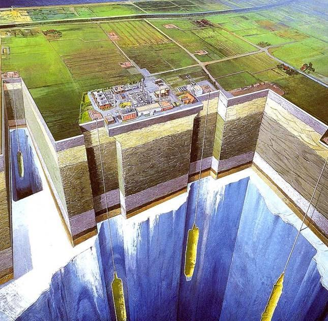 Arizona Geology: Natural Gas Storage In Picacho Basin Salt