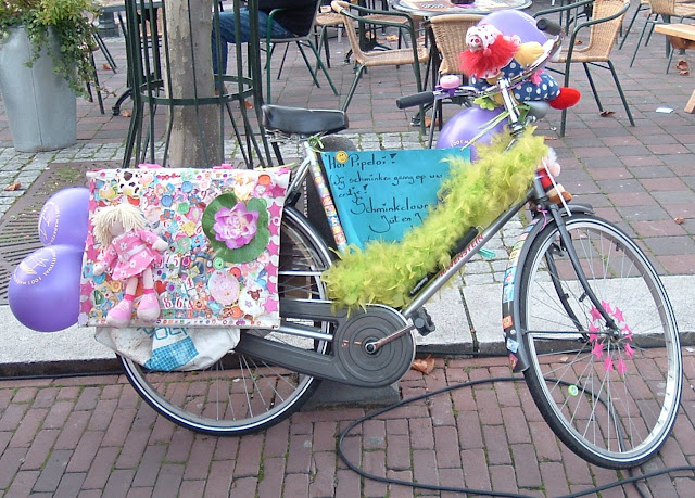 A View From The Cycle Path Decorated Bikes